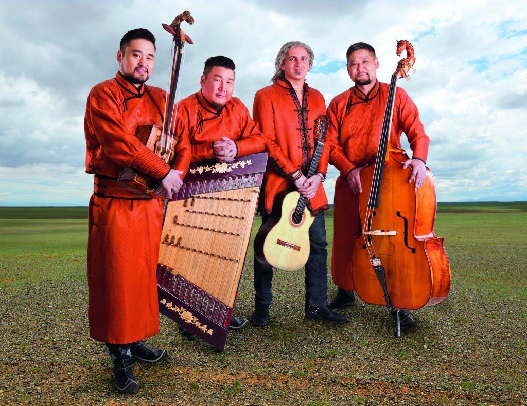 Foto der Sedaa Musikgruppe